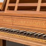 Harpsichord made by Robert Goble